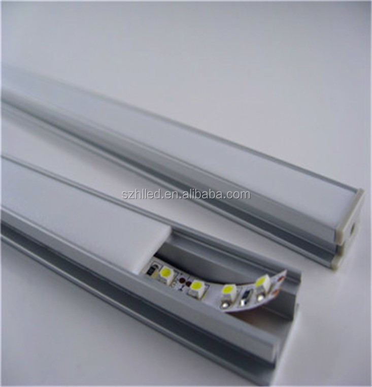 Line HR Flat Recessed extrusion LED aluminum profile for LED strip lights