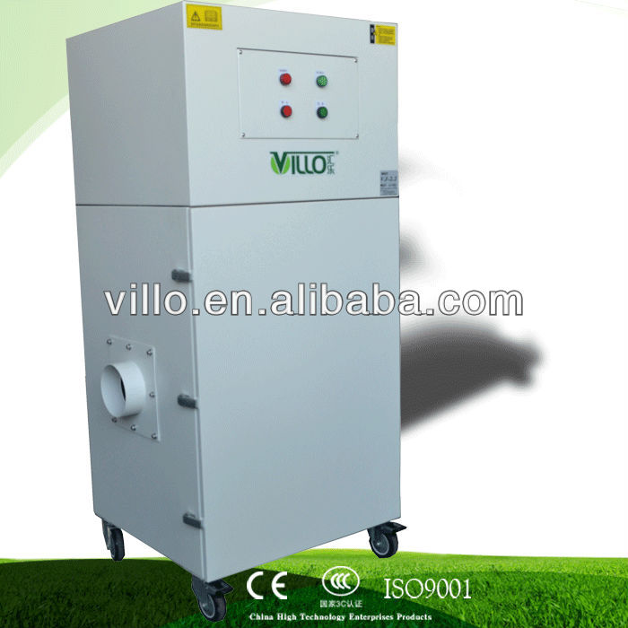 Three phase lasting work for 24 hours nail dust collector V J series ( 380V/50Hz )