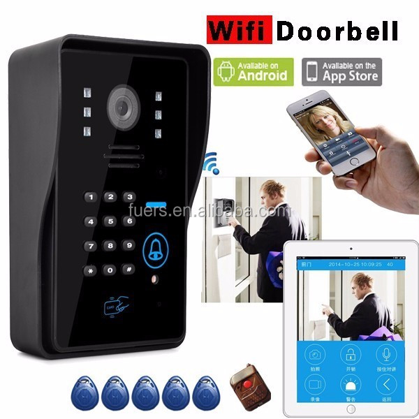 Waterproof Wireless Doorbell Camera Android Ios App Smart