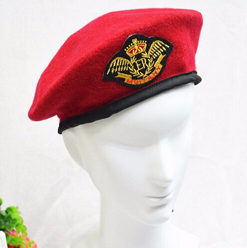 cc15e6a652b8e High Quality cheap berets for sale Costume Party senior Military decorate beret  hats