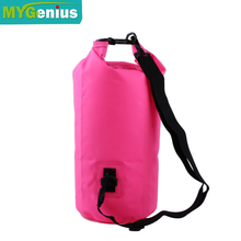 10L outdoor waterproof dry bag With Shoulder Straps