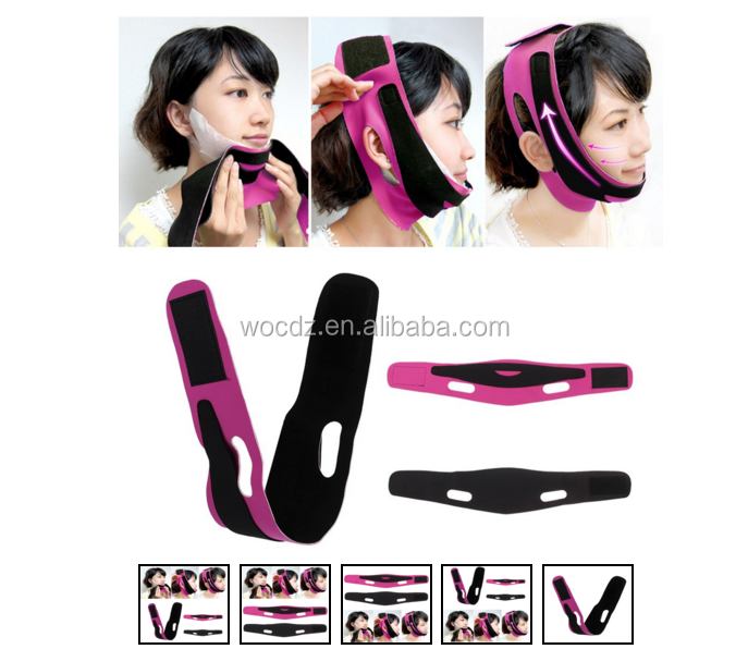 Ultra-thin face V line slim blet chin Cheek Facial Belt Slimming Band Beauty Care Anti-Wrinkle Strap