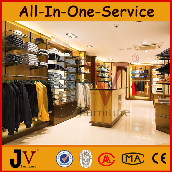 China clothes shop design for models clothing store