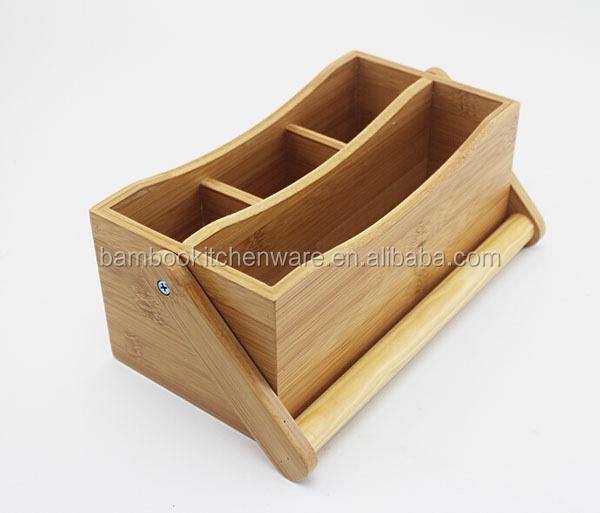 Natürliche Bambus Tisch Caddy Besteck Caddy - Buy Bambus Tisch Caddy ...
