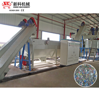 Washing line plastic recycling production equipment