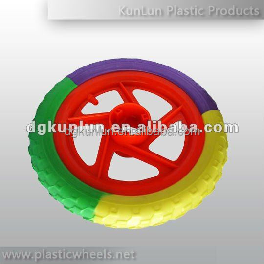 Plastic bicycle wheels for kids