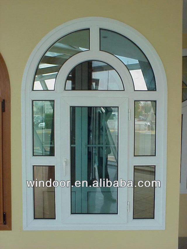 House dise os ventana de aluminio ventana de arco ventanas for Disenos en aluminio