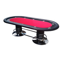 8ft Logam Kaki High-end <span class=keywords><strong>Meja</strong></span> <span class=keywords><strong>Poker</strong></span> TPT-001