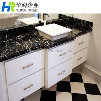 White Marble Bathroom Vanity Top