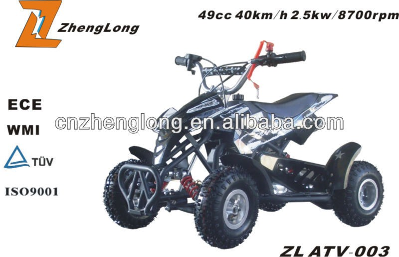 China racing atv 50cc automatic mini moto atv