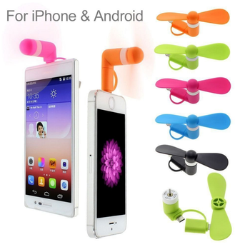 2017 New Mobile Phone Accessories Mini Usb Cell Phone Fan