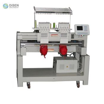 High Speed Swf Embroidery Machine Price Buy Two Head Swf Embroidery Machine Two Head Embroidery Machine 2 Head Commercial Embroidery Machine Product