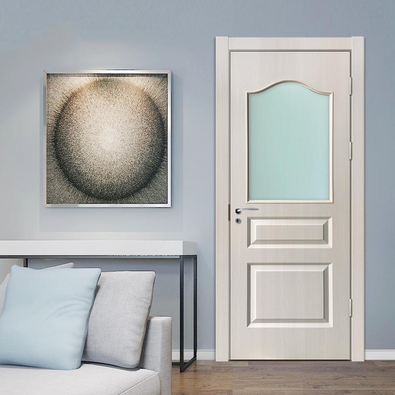 HOT SALE pvc film lamination pvc door for Iraq market
