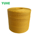Wholesale 2mm coiled twisted paper rope, yellow color paper twine
