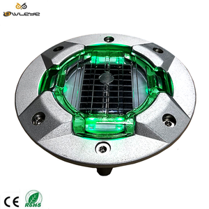 Reflective Cat Eyes Light Solar Power LED Outdoor Road Stud Driveway Mountain Roads Aboard Watercrafts Pathway Lamp