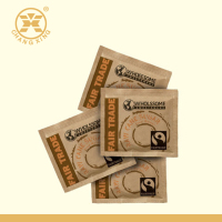 High Class Creative Printed Kraft Paper Tea Coffee Sugar Sachet Bag