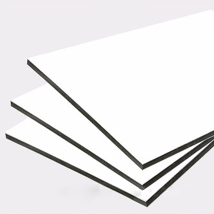 2017 new painting white color 3mm home decorate aluminum composite panel