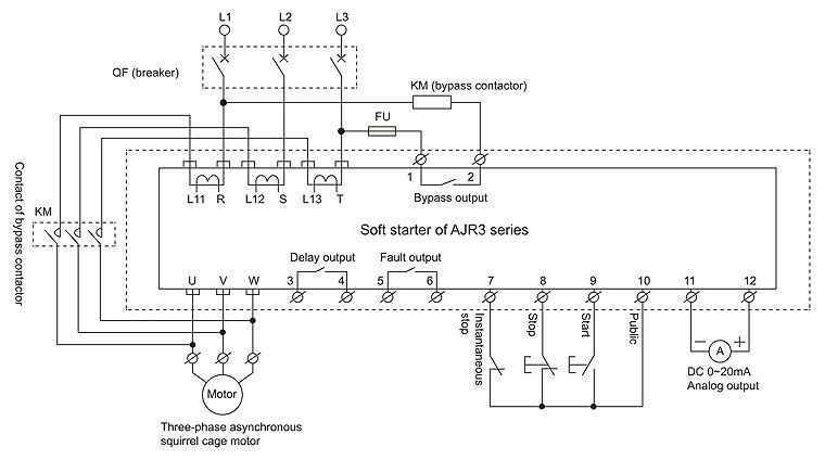 Ajr3 Intelligent Motor Soft Starter