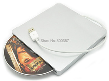 Super Slim USB 2.0 Slot-in Portable Optical DVD-RW Driver, Plug and Play