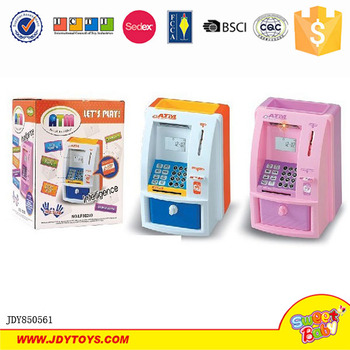 Mini Atm Coin Bank Piggy Machine Toy For Children