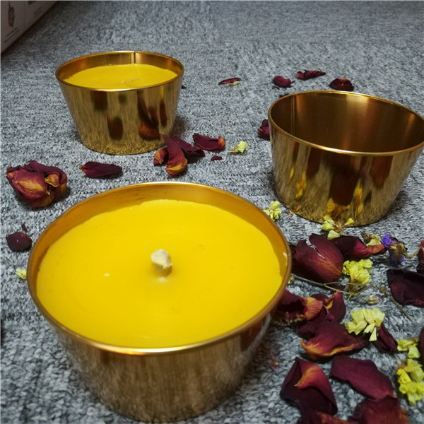 Tin outdoor big citronella camping copper holder candles