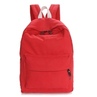 Social audit passed manufacture pu leather material leisure backpack