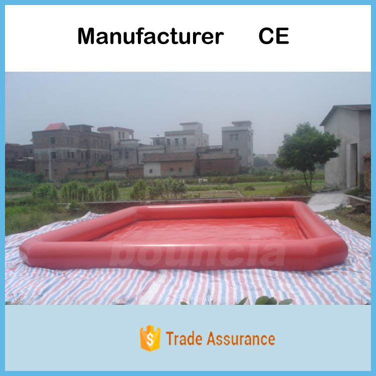 0.9mm PVC Tarpaulin Swimming Pool / Inflatable Water Pool For Kids Game