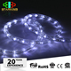 Strong r&d Hot selling Modern christmas decoration battery operated rope lighting