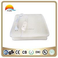 chinese supplier synthetic wool electric heating blanket