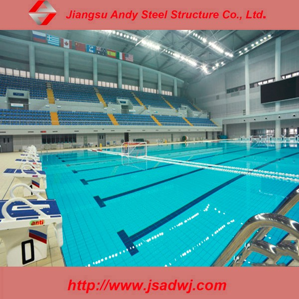 Prefab Steel Frame Structure Steel Roofing For Swimming Pool Design Buy Prefab Steel Structure