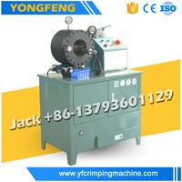 China single wire braid,textile covered hydraulic crimping machine