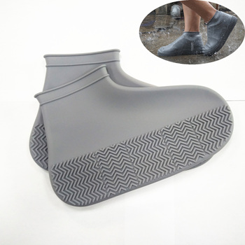 2019 Hot Selling Silicone Waterproof Shoe Protectors/Rain Shoe Cover For Outdoor, Anti-slip reusable silicone shoe cover