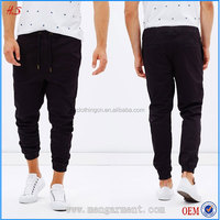 New Products In 2016 Soft Cotton-Twill Fabrication Men Joggers With Waistband Man Sports Wear