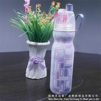 2016 New PE Plastic Mist Water Bottle 20OZ Biodegradable