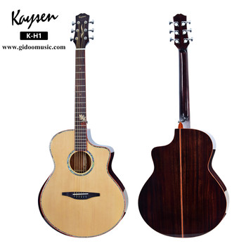 High end 41Inch soild spruce top acoustic guitar for shop from china guitar factory