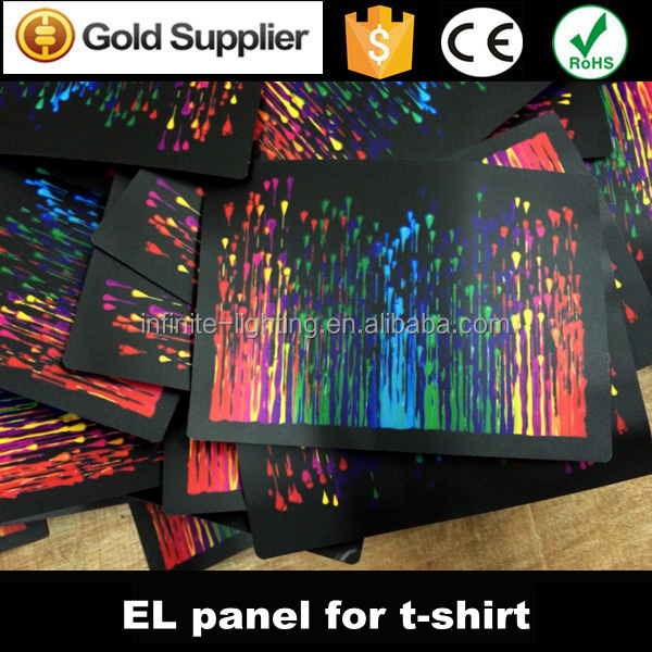 China Manufacturer El Flame Guitar Led Equalizer Panel For Shirt ...