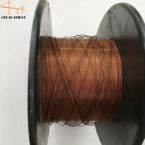 Co2 gas shielded MIG copper coated mild steel ER70S-6 welding wire