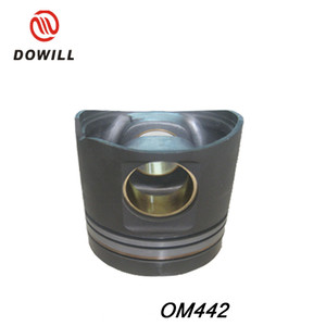 Stock OM442 piston for engine repair