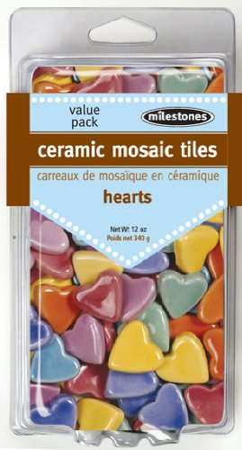 Midwest Products Value Pack Heart Tiles