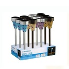 Solar garden lamp,mosaic Solar Garden Light ,solar light for garden solar lamp post conversion kit