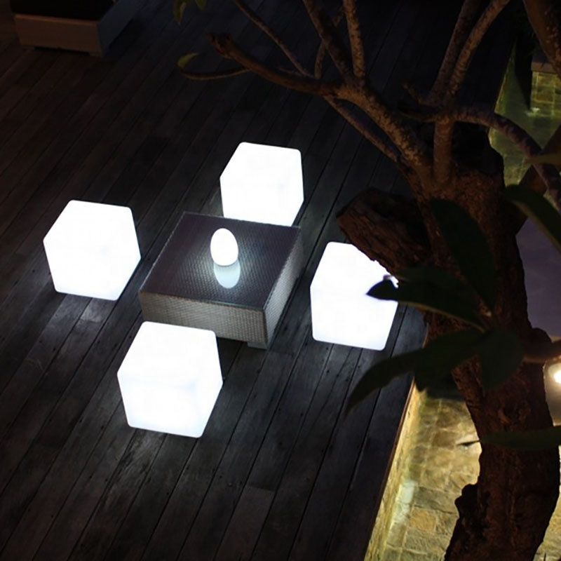 Impermeable IP54 luminosa led silla moderno led brillante Silla de bar