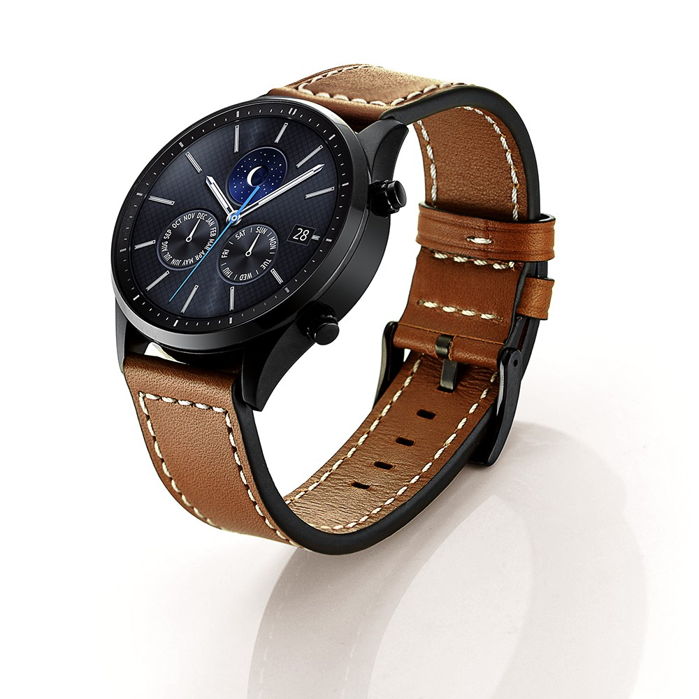 For Gear S3 Frontier / Classic Watch Band, For Samsung Gear S3 Leather Strap Replacement Band