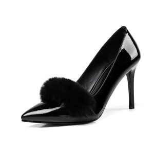 4b8a4a59ecd2 Ladies Feather High Heels