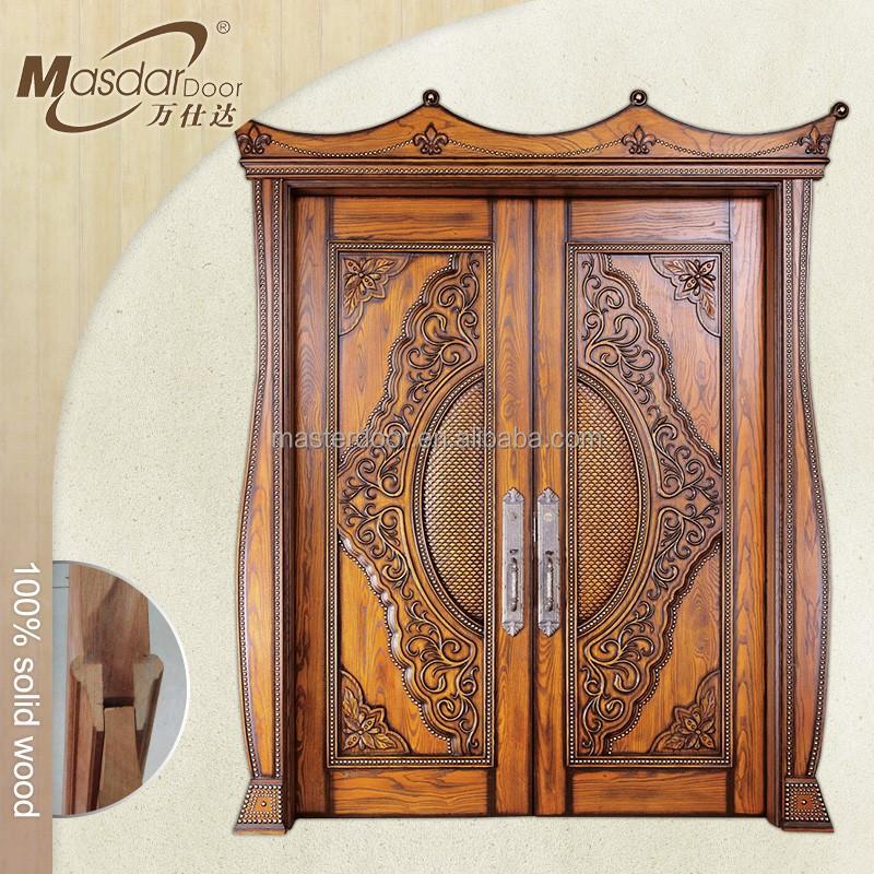 Sophisticated Front Door Wood Designs Gallery - Exterior ideas 3D ...