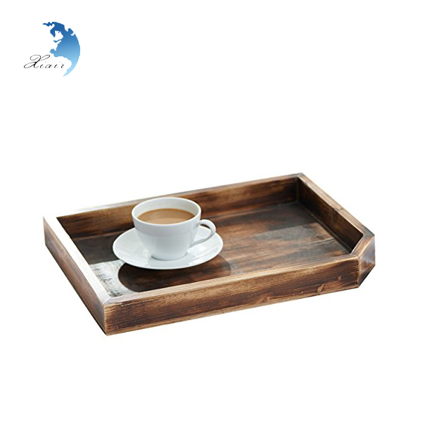 Wholesale Vintage Cheap Shabby Chic Wood Serving Tray