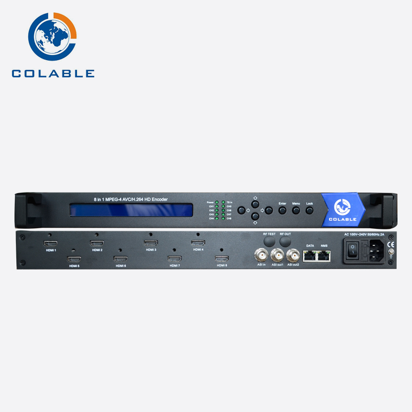 COL5181D The most popular and user-friendly hd h.264 h-d-m-i encoder, iptv device for live stream encoding