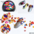 Hot selling 3D Colorful Natural Stone Different size Diamond Stone DIY Nail Art