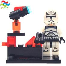 2016 NEWEST Star Wars 8 pcs lot Kid Baby Toy Mini Figure Building Blocks Sets Minifigures