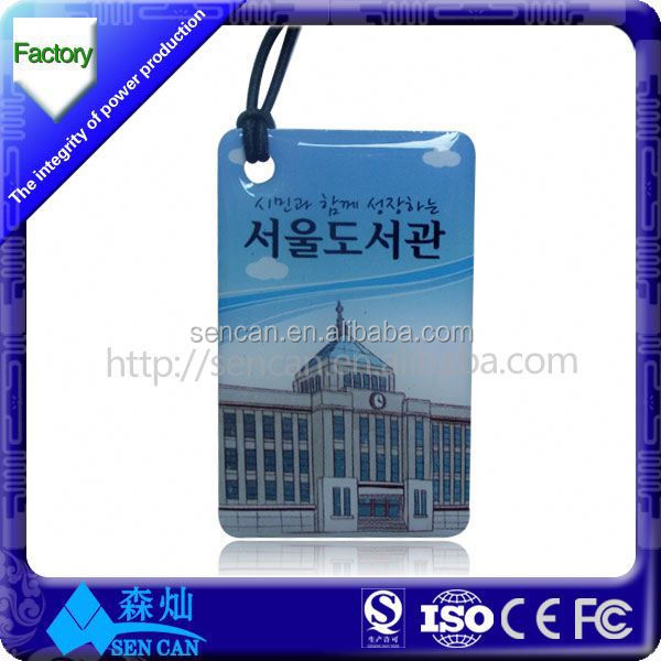 Alibaba china hot selling mini rfid epoxy card/nfc epoxy card tag for access control