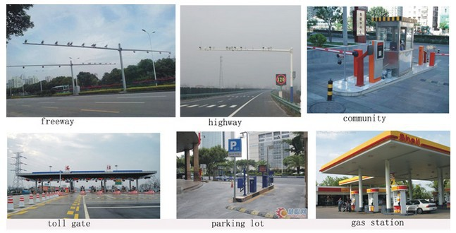 Parking Management System Lpr Security Camera For Car Number Plate ...